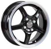 Колесный диск SKAD Стинг 5.5x14/4x100 D67.1 ET38 Антрацит-алмаз