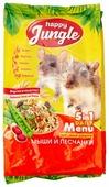 Корм для мышей и песчанок Happy Jungle 5 in 1 Daily Menu Основной рацион