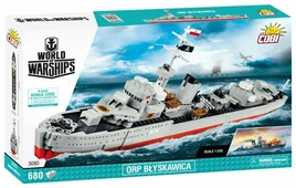 Конструктор Cobi World of Warships 3080 Эсминец Молния