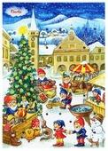 Шоколад Carla Календарь рождественский, молочный