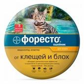 Форесто (Bayer) ошейник от блох и клещей инсектоакарицидный для кошек и котят