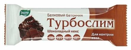 Протеиновый батончик Эвалар Шоколадный кекс 52 г