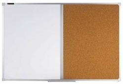 Доска комбинированная магнитно-маркерно-пробковая BRAUBERG 236864 (60х90 см)
