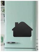Доска на холодильник меловая Doski4you Дом 1 (30х40 см)
