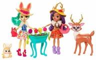 Набор кукол Enchantimals Подруги с любимыми зверюшками, 15 см, FDG01