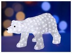 Фигурка NEON-NIGHT Белый медведь 45 см