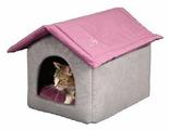 Домик для кошек, для собак Joy со съемной крышей (1КУН00148/1КУН00128) 53х41х39 см