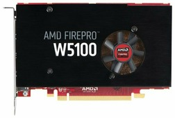 Видеокарта HP FirePro W5100 930Mhz PCI-E 3.0 4096Mb 128 bit