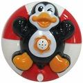 Фонтан Huggeland Зверята пловцы в спасательном круге Пингвин (343279)