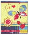 Феникс Дневник школьный Коллаж с бабочкой 32640