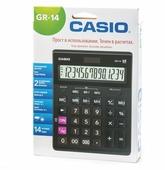 Калькулятор бухгалтерский CASIO GR-14-W