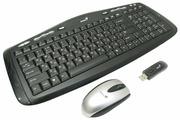 Клавиатура и мышь Genius LuxeMate 3000 Black USB