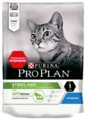 Корм для стерилизованных кошек Purina Pro Plan Sterilised для профилактики МКБ, с кроликом