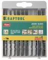 Набор пилок для лобзика Kraftool 159590-H10 10 шт.