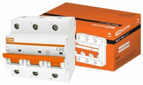 Автоматический выключатель TDM ЕLECTRIC ВА 47-100 3P (C) 10kA