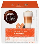 Капсулы для кофемашин капсульного типа Krups NESCAFE DOLCE GUSTO Latte Macchiato Caramel (упак.:8шт)