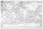 Globen Огромная раскраска. Карта мира