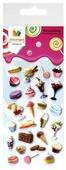 Липляндия Набор зефирных наклеек Десерт 2