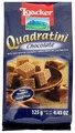 Вафли Loacker Quadratini Chocolate 125 г