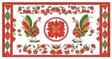 Конверт для денег Учитель Пермогорская роспись (КД-218), 1 шт.