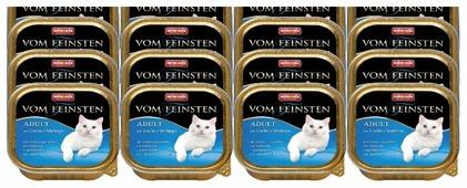 Корм для кошек Animonda Vom Feinsten беззерновой, с лососем, с креветками 100 г (паштет)