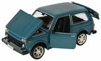 Внедорожник Автопанорама ВАЗ 21214 (JB1200151/JB1200152/JB1200153) 1:22