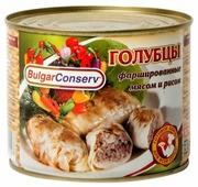 BulgarConserv Голубцы с мясом и рисом 540 г