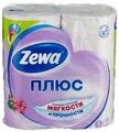 Бумага туалетная ZEWA Плюс Аромат сирени 4 рулона (7322540667271)