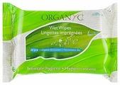 Organyc Влажные салфетки для интимной гигиены, 20 шт