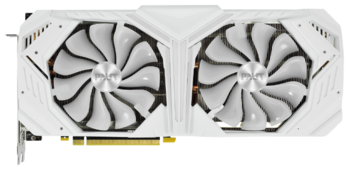 Видеокарта Palit GeForce RTX 2080 SUPER 1650MHz PCI-E 3.0 8192MB 15500MHz 256 bit HDMI HDCP White GameRock Premium