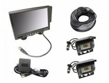 Камера заднего вида, монитор, соединительные провода Pleervox PLV-TRUCK 6