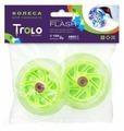 Колесо для самоката Trolo для Mini светящиеся передние, комплект (2 шт.)