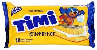 Пирожное Konti Timi сливочное