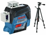 Лазерный уровень BOSCH GLL 3-80 C Professional + AA 1 + BT 150 (0601063R01) со штативом