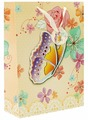 Пакет подарочный Perfect Craft Бабочка в цветах 30 х 42 х 12 см
