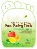 Avec moi Носочки-пилинг Fruit & Vinegar Foot Peeling Mask