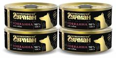 Корм для собак Четвероногий Гурман Golden Line говядина