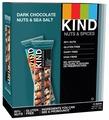 Ореховый батончик Be-Kind Dark Chocolate Nuts & Sea Salt, 12 шт