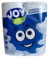 Полотенца бумажные JOY Eco белые двухслойные