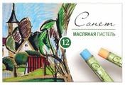 Невская палитра Пастель масляная Сонет 12 цветов (7041155)