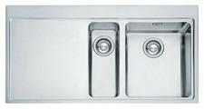 Интегрированная кухонная мойка FRANKE MMX 251 100х52см нержавеющая сталь