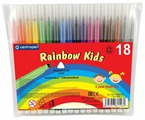 Centropen Набор фломастеров Rainbow Kids (7550), 18 шт.
