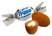 Конфеты Konti Гранд Конти, кремовая начинка, сливочный вкус, пакет