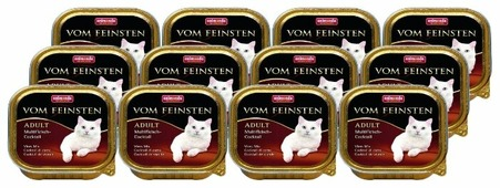 Корм для кошек Animonda Vom Feinsten беззерновой, мясное ассорти 100 г (паштет)