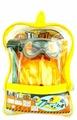 Junfa toys Набор инструментов в прозрачном рюкзаке 10 предметов 2145