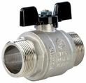 Кран шаровый STOUT SVB-0006-000032 муфтовый (НР/НР), латунь для бытовой техники