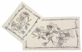 Комплект ковриков Arya Роза TRK111300021078, 2 шт