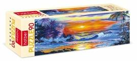 Пазл Hatber Панорама Морской закат (90ПЗ4_18221), 90 дет.