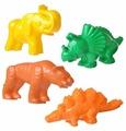 Набор Полесье тигр + мамонт + динозавр №1 + динозавр №2 36568