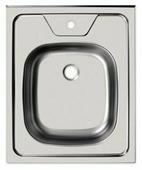 Накладная кухонная мойка UKINOX Standart STD 500.600-6C 0C 50х60см нержавеющая сталь